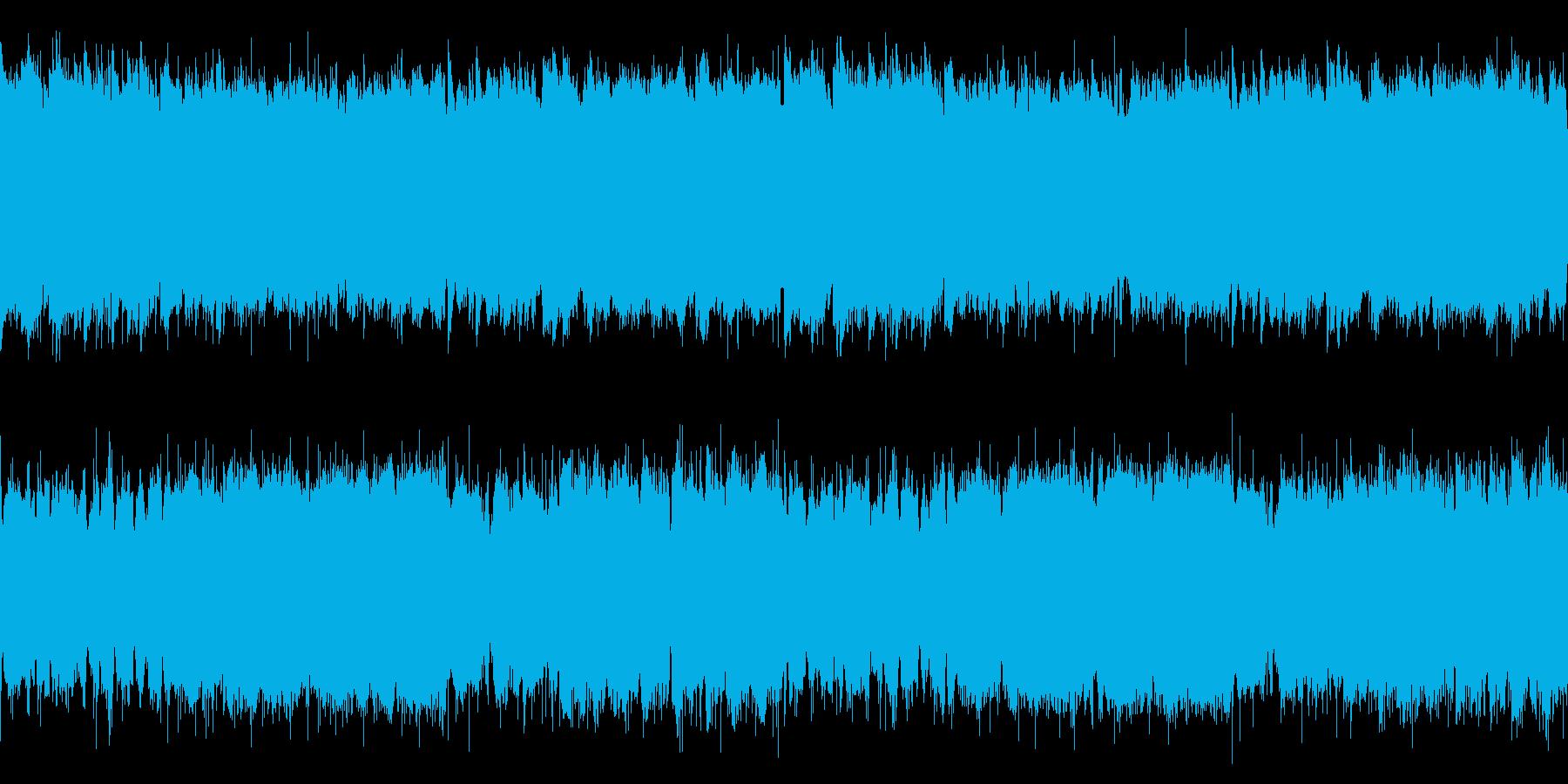 【ループ】ローファイなヒップホップの再生済みの波形