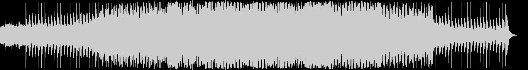 EDM系ダンスミュージックの未再生の波形