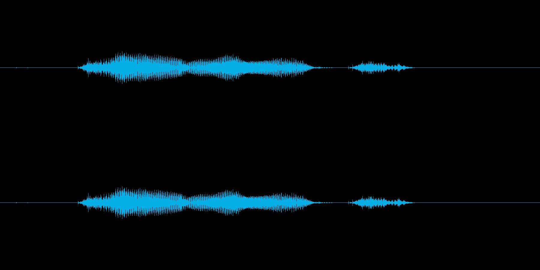 【月】12月の再生済みの波形