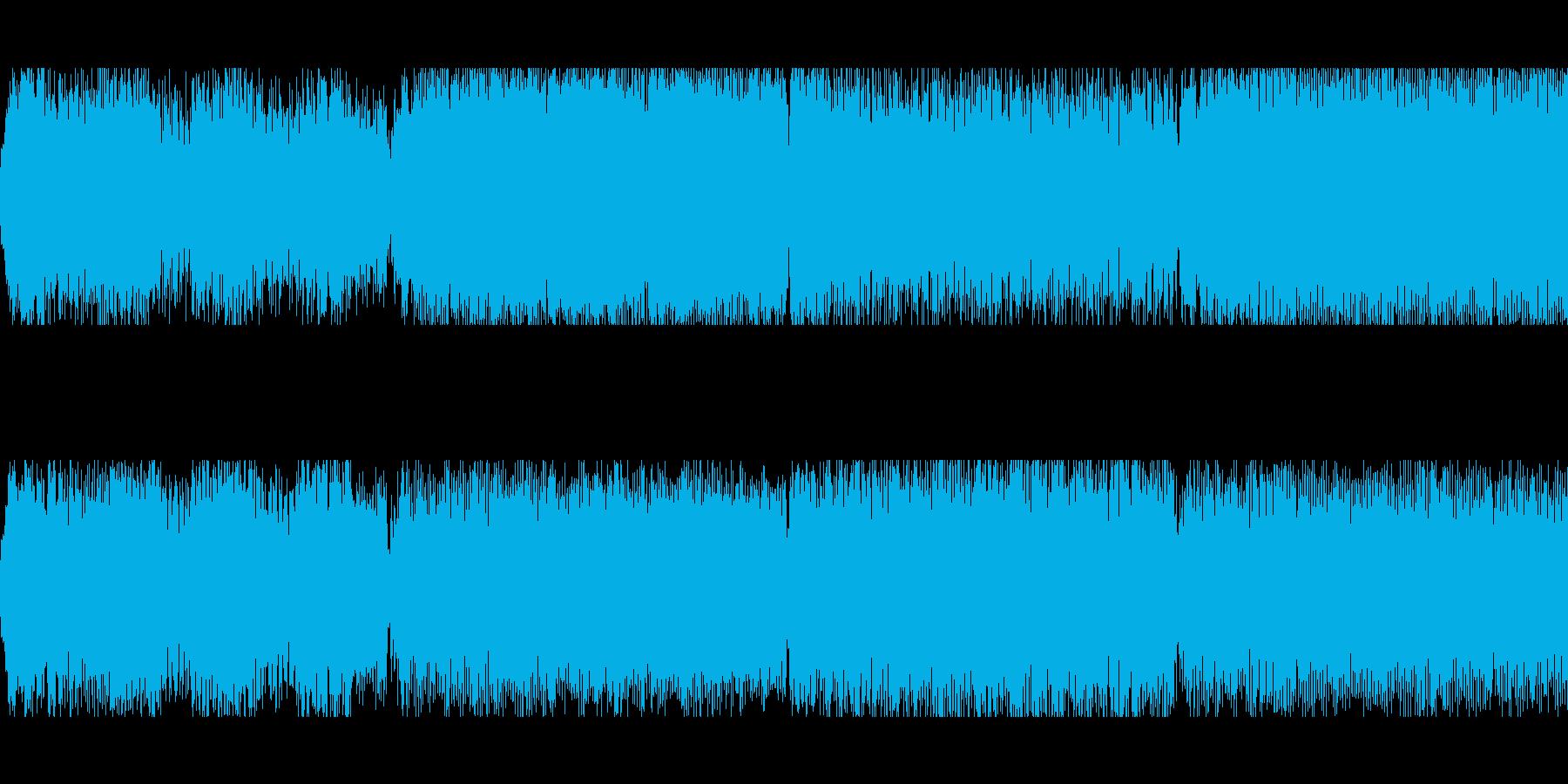 サスペンス、ミステリー、不安ループverの再生済みの波形