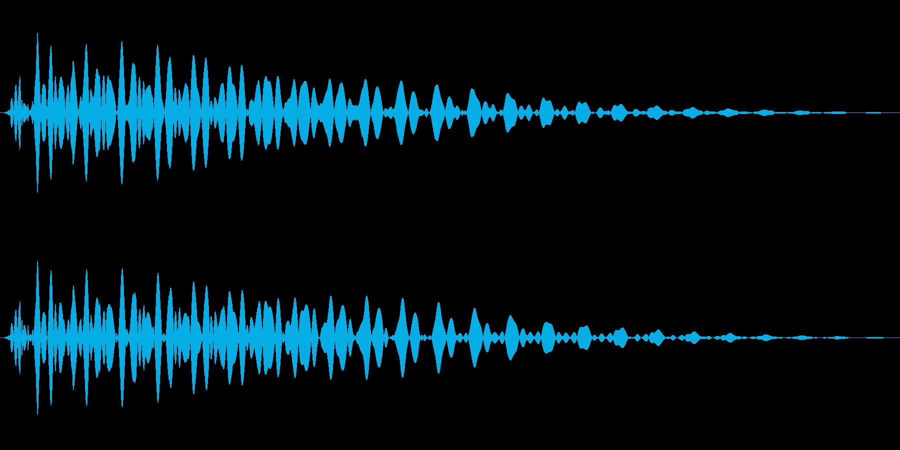 PureTouch アプリ用タッチ音69の再生済みの波形