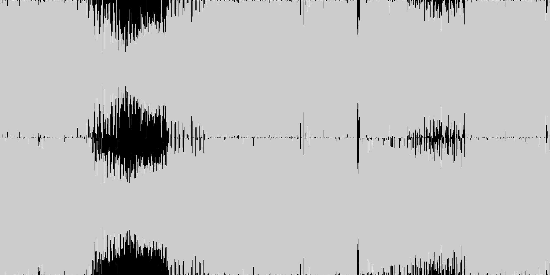 ☆ハイブリッド・トランス☆ループ◯素材の未再生の波形