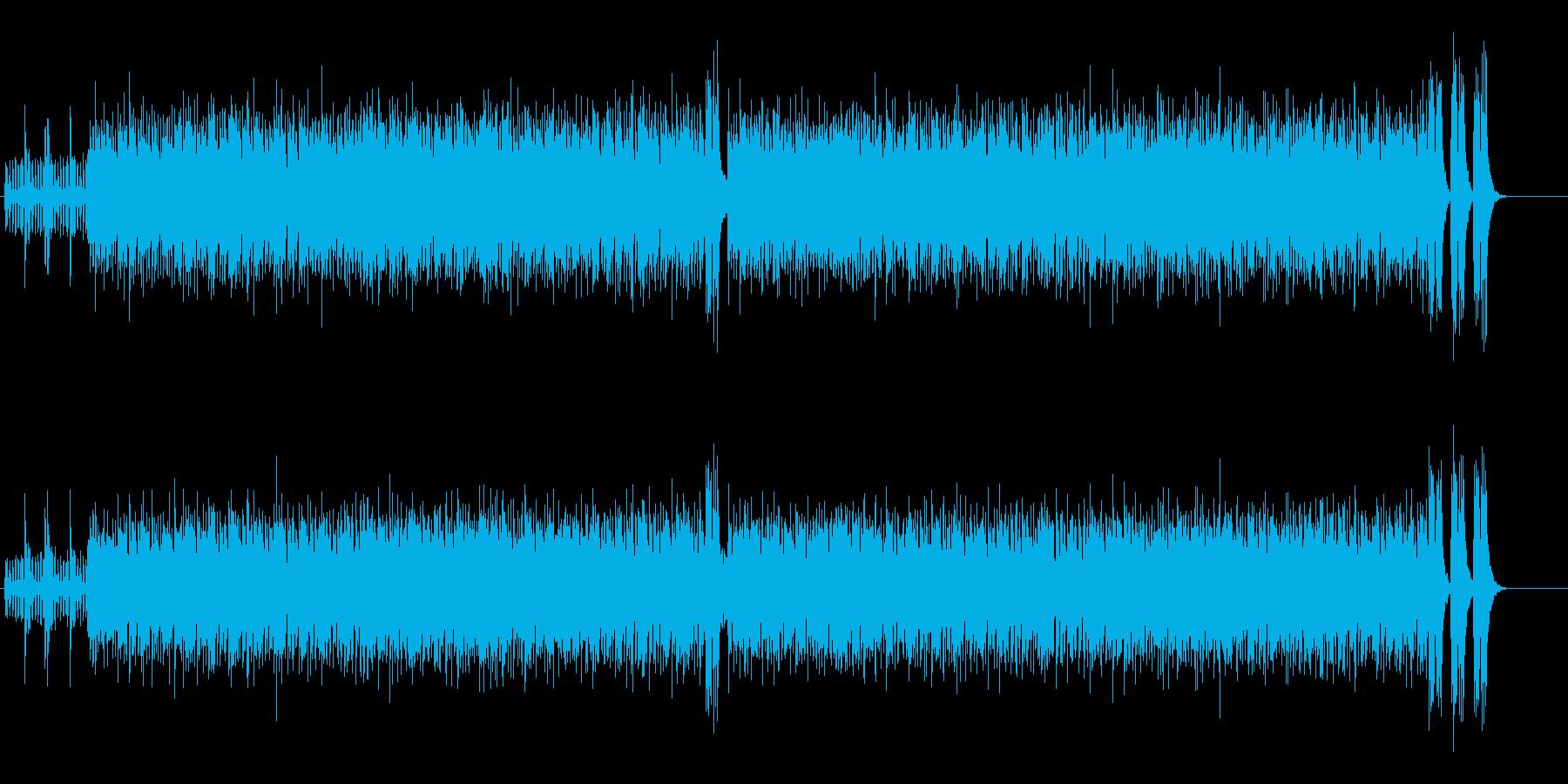陽気でハッピーなハイパー・ポップスの再生済みの波形