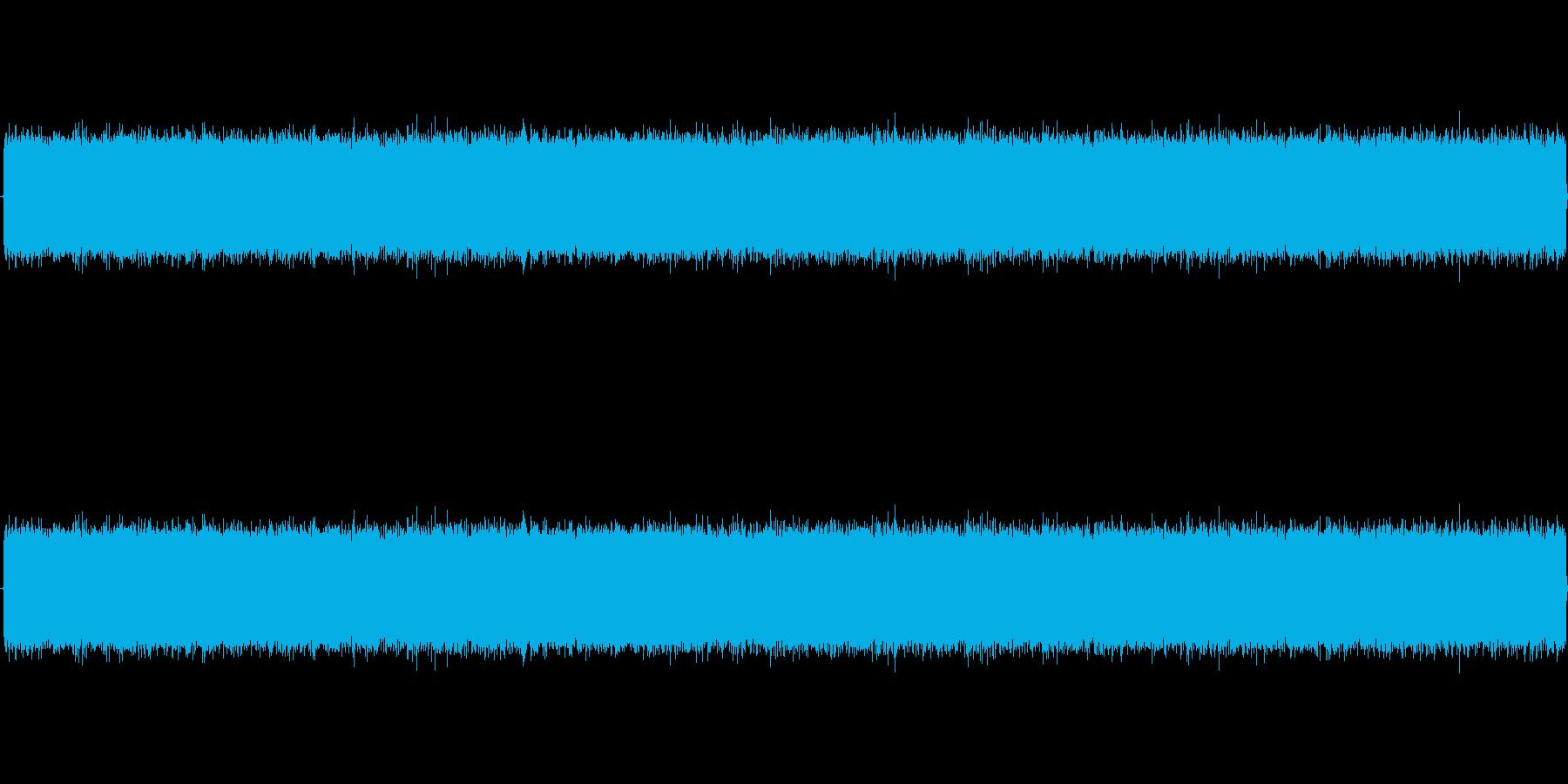 ザー・・・(ノイズ、ホラーゲーム)の再生済みの波形