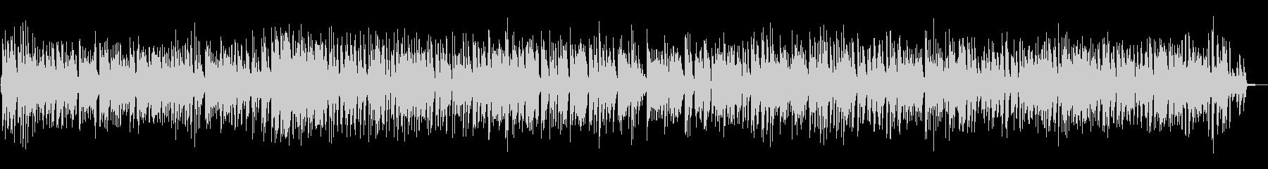 控えめなノリでオシャレなピアノBGMの未再生の波形