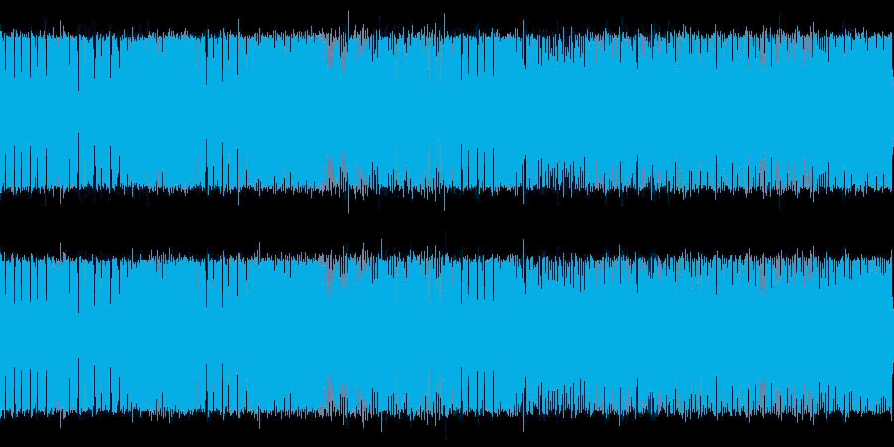 迫り来る感じのイメージの楽曲に仕上がっ…の再生済みの波形