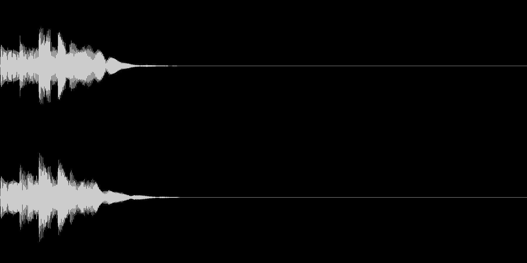システム音07_シンセDWの未再生の波形