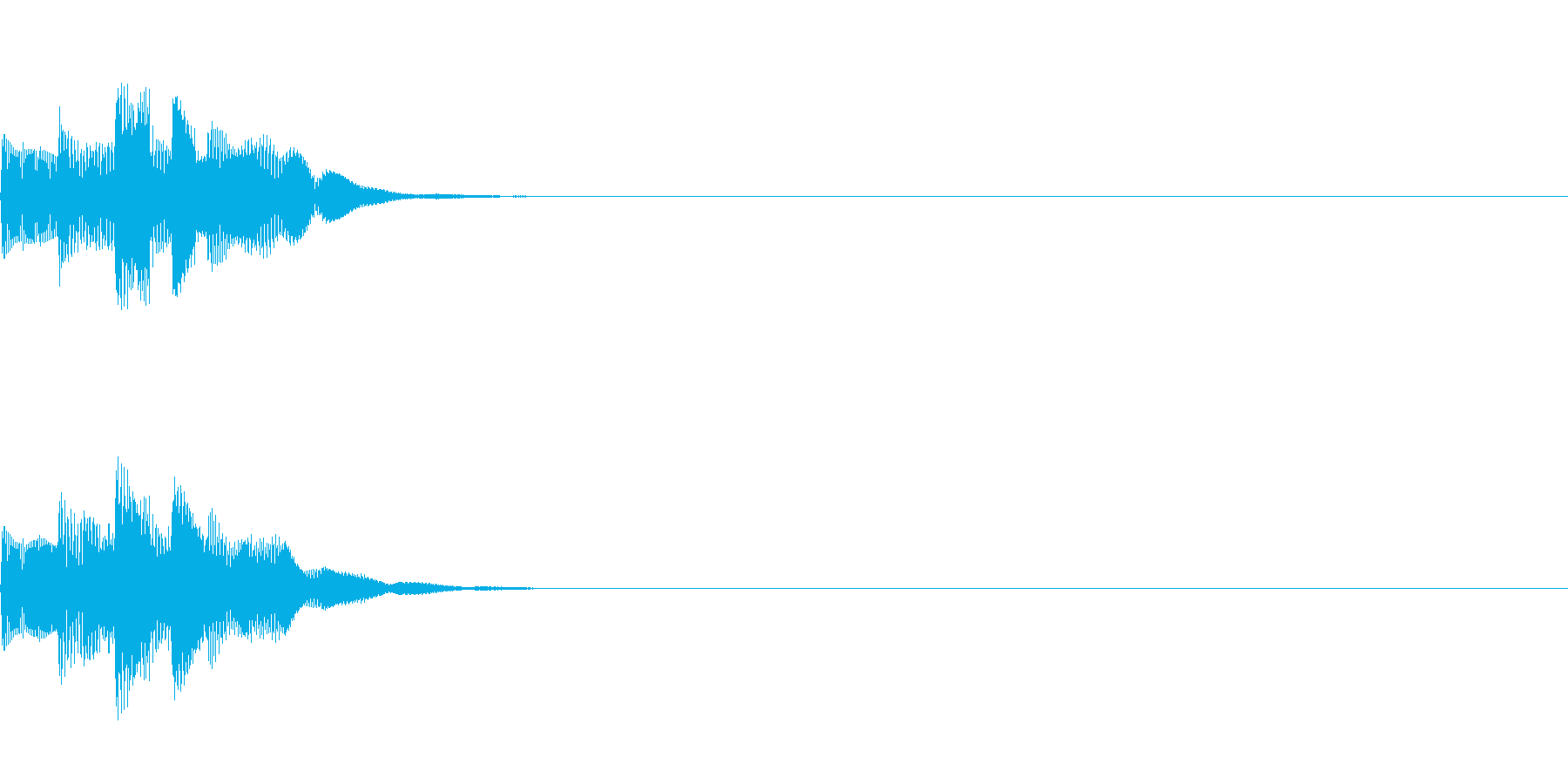 システム音07_シンセDWの再生済みの波形