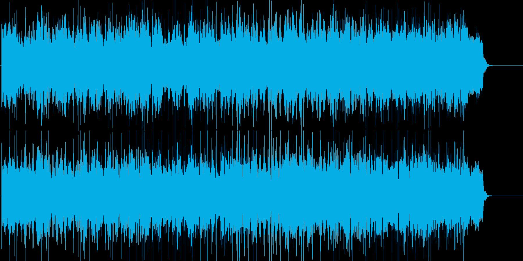 アダルト、スピード、スリル、さわやかの再生済みの波形