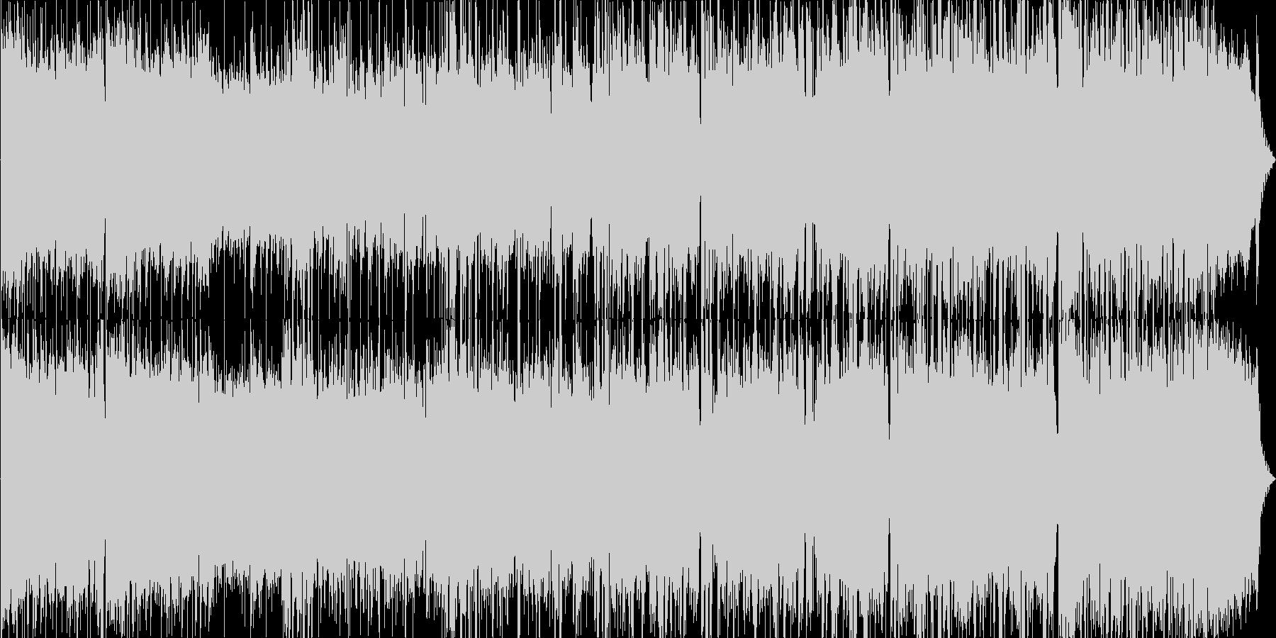 アイドル系ポップロックなボーカル曲です。の未再生の波形