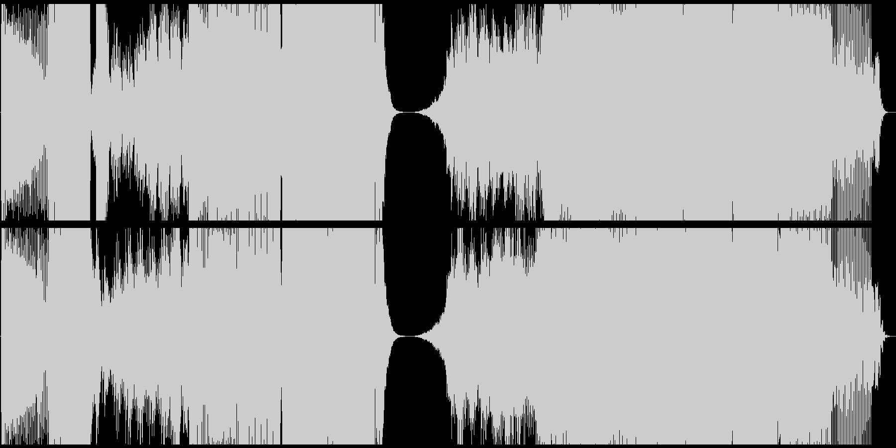 BigRoomHouseの未再生の波形