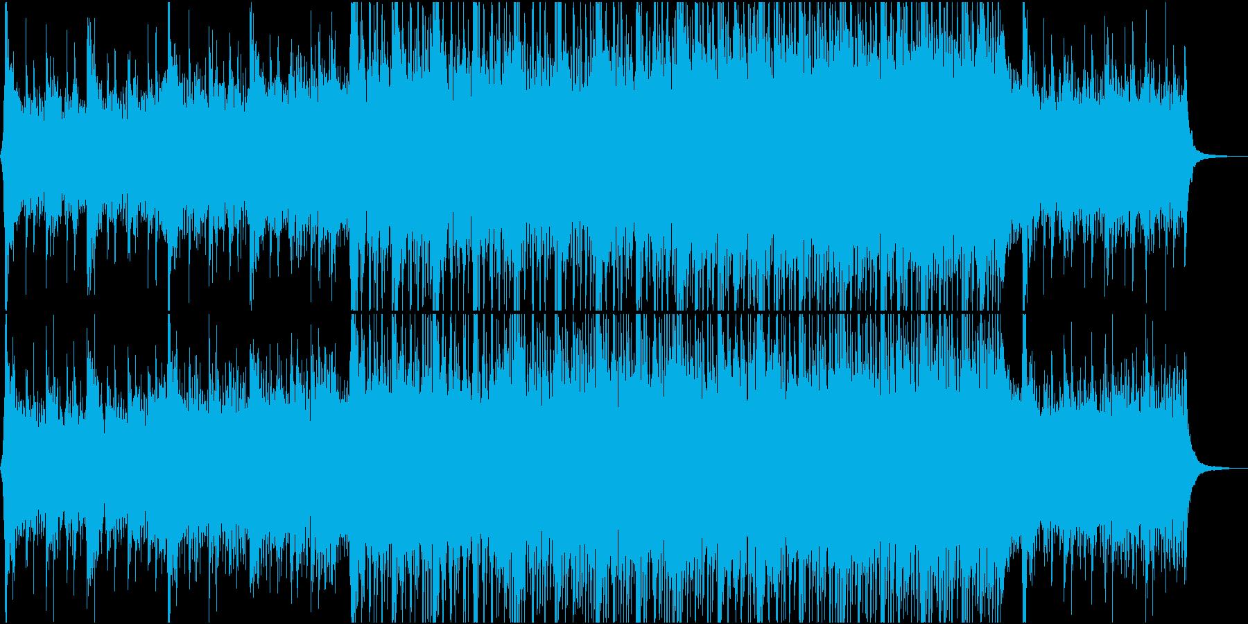 バトル系オーケストラ+ヒップホップの再生済みの波形