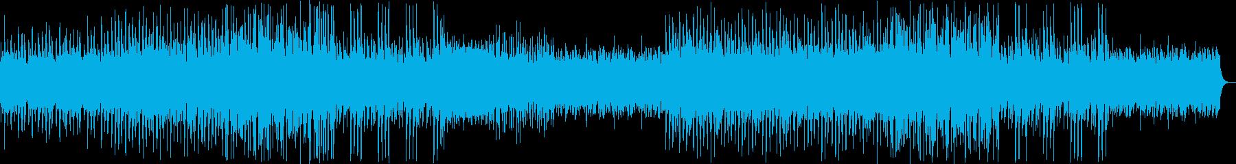 ウキウキしたシンセ・鉄琴などのサウンドの再生済みの波形