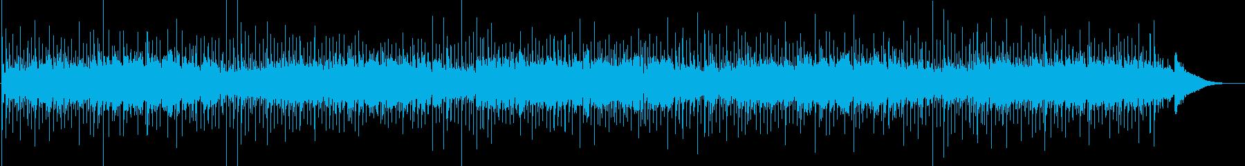 アコギ演奏によるリラックスできるポップスの再生済みの波形