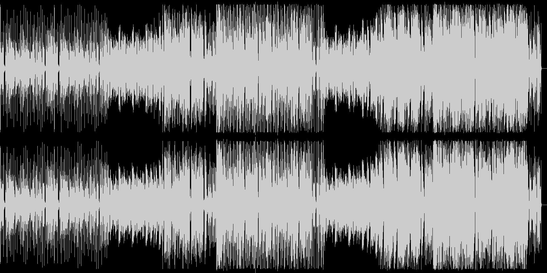 ダンジョンで流れてそうなイメージのBGMの未再生の波形