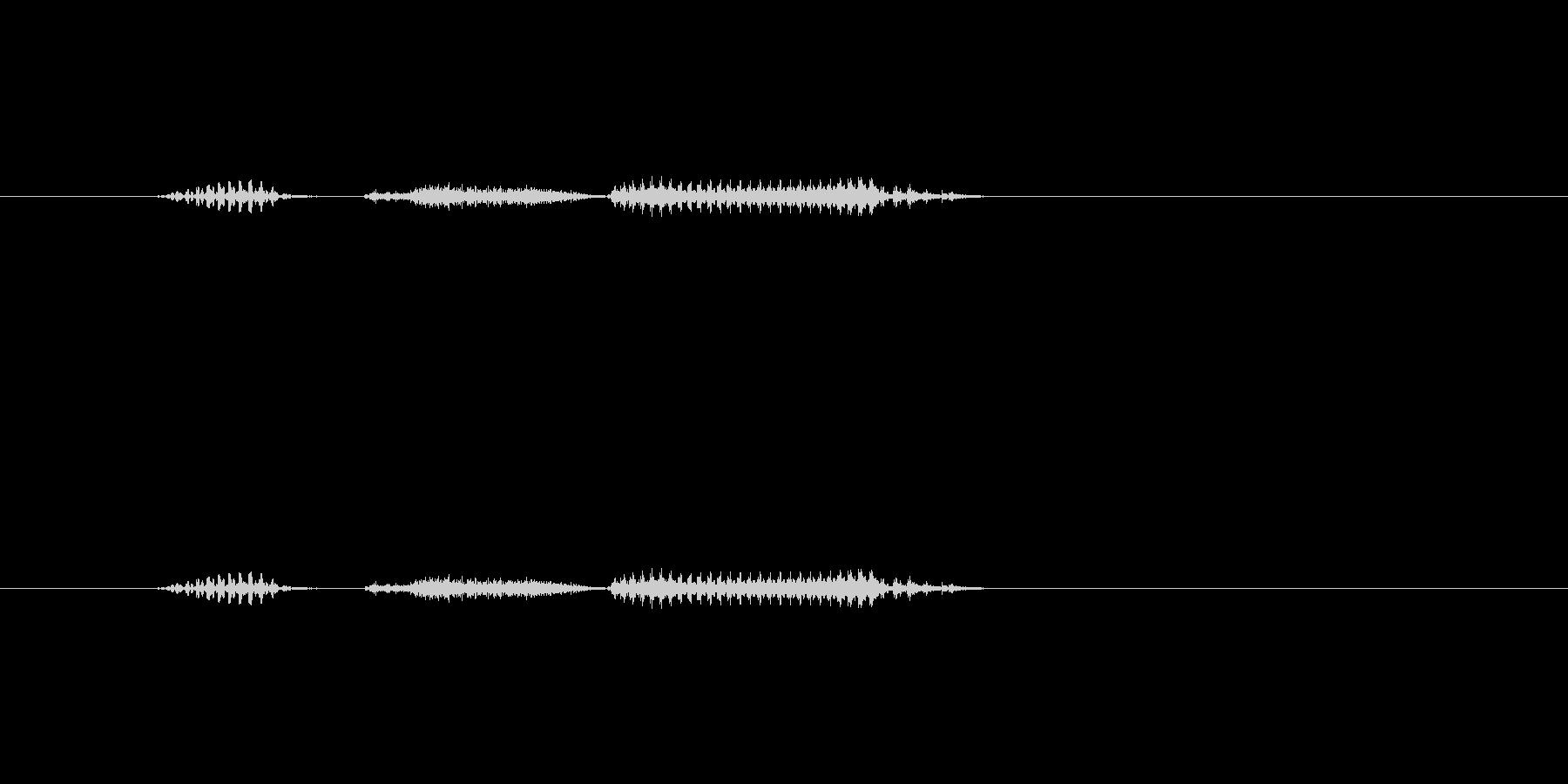 木星の未再生の波形