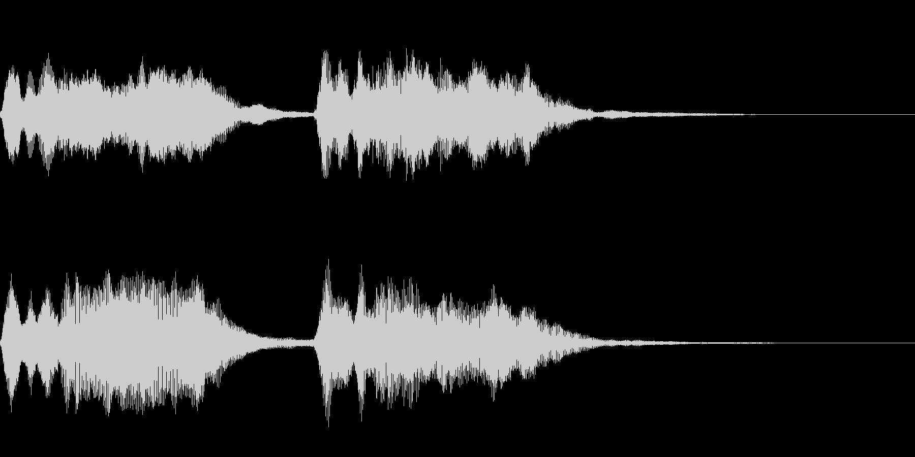 ダダダダーン:ベートーベン運命ストリングの未再生の波形