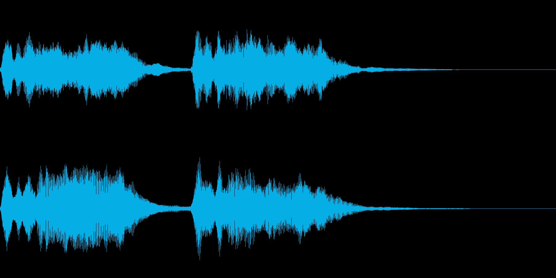 ダダダダーン:ベートーベン運命ストリングの再生済みの波形