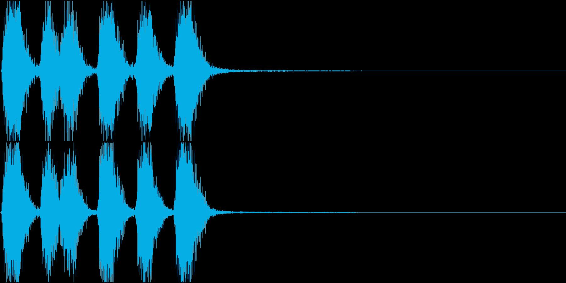 トランペット ファンファーレ 定番 15の再生済みの波形