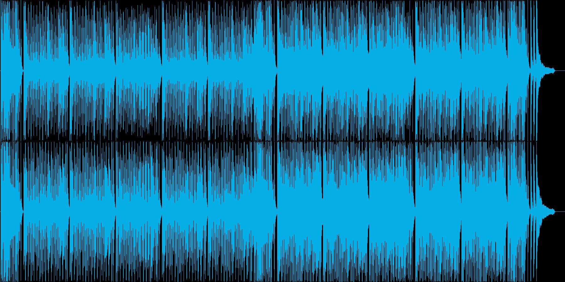 明るく飛び跳ねる愉快なポップBGM♪の再生済みの波形