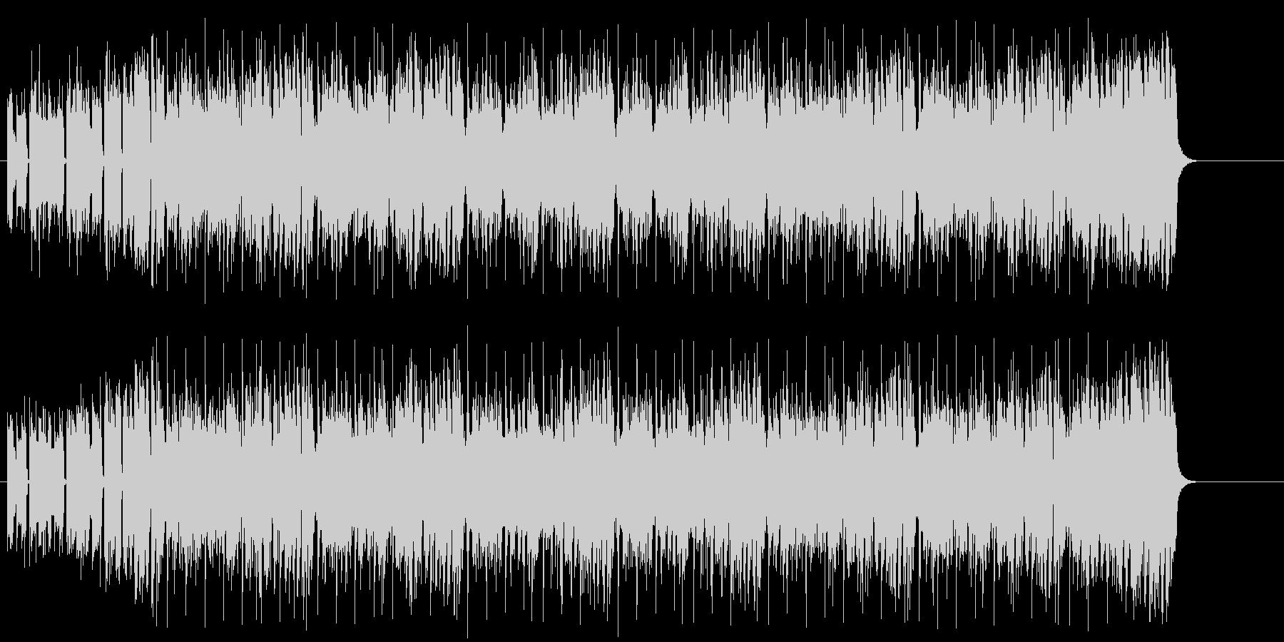 ラップ調ファンク/テクノの未再生の波形