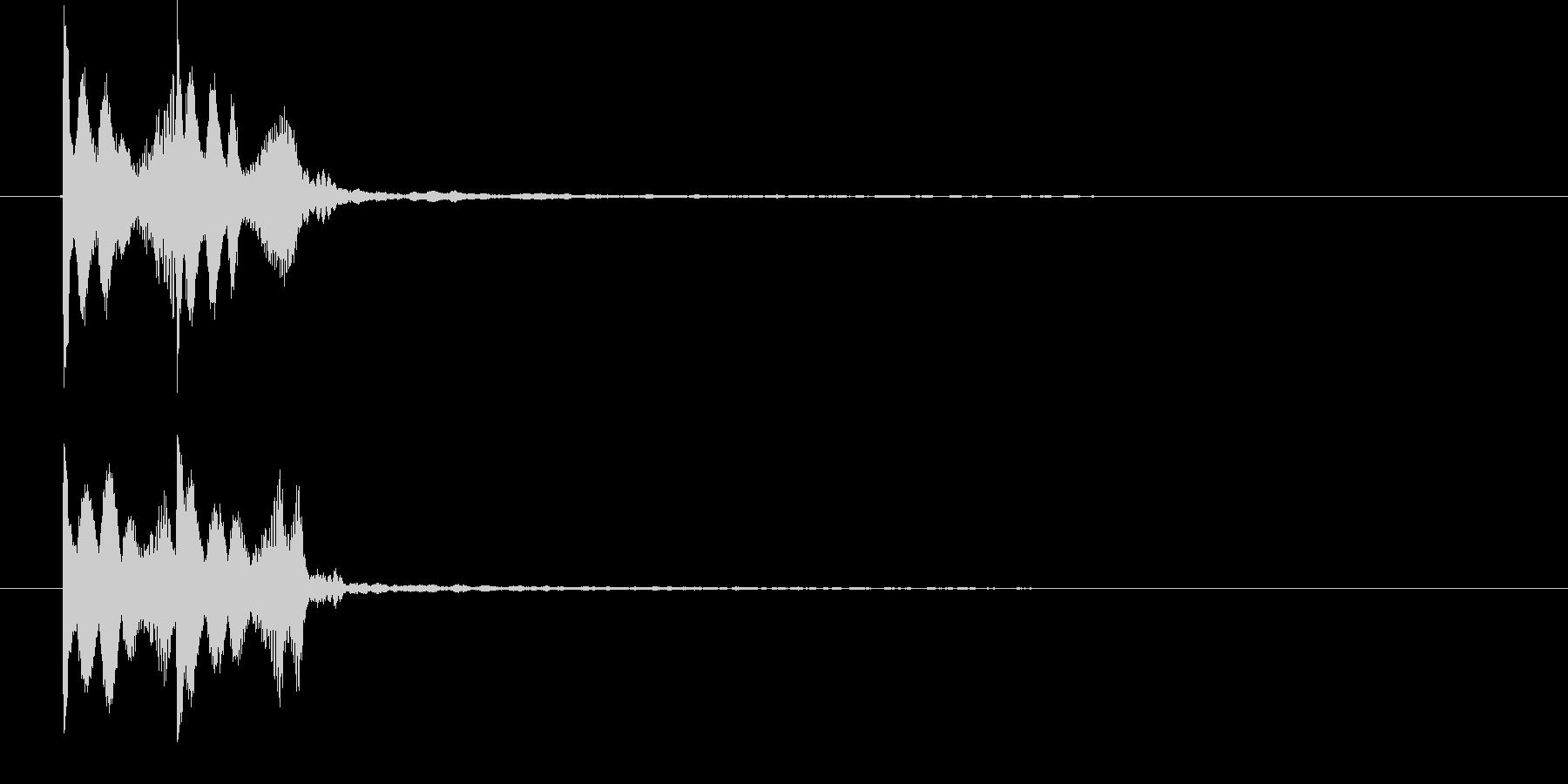ゲームコマンドエラー音   K14の未再生の波形