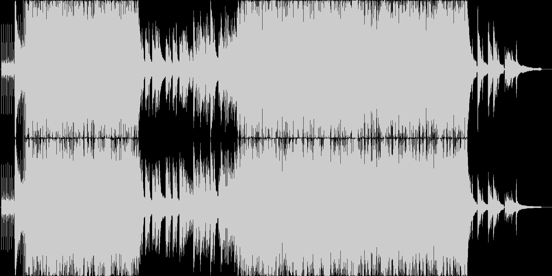 温かい3拍子の未再生の波形