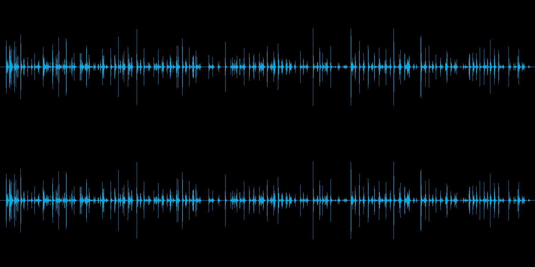 【PC キーボード01-3】の再生済みの波形