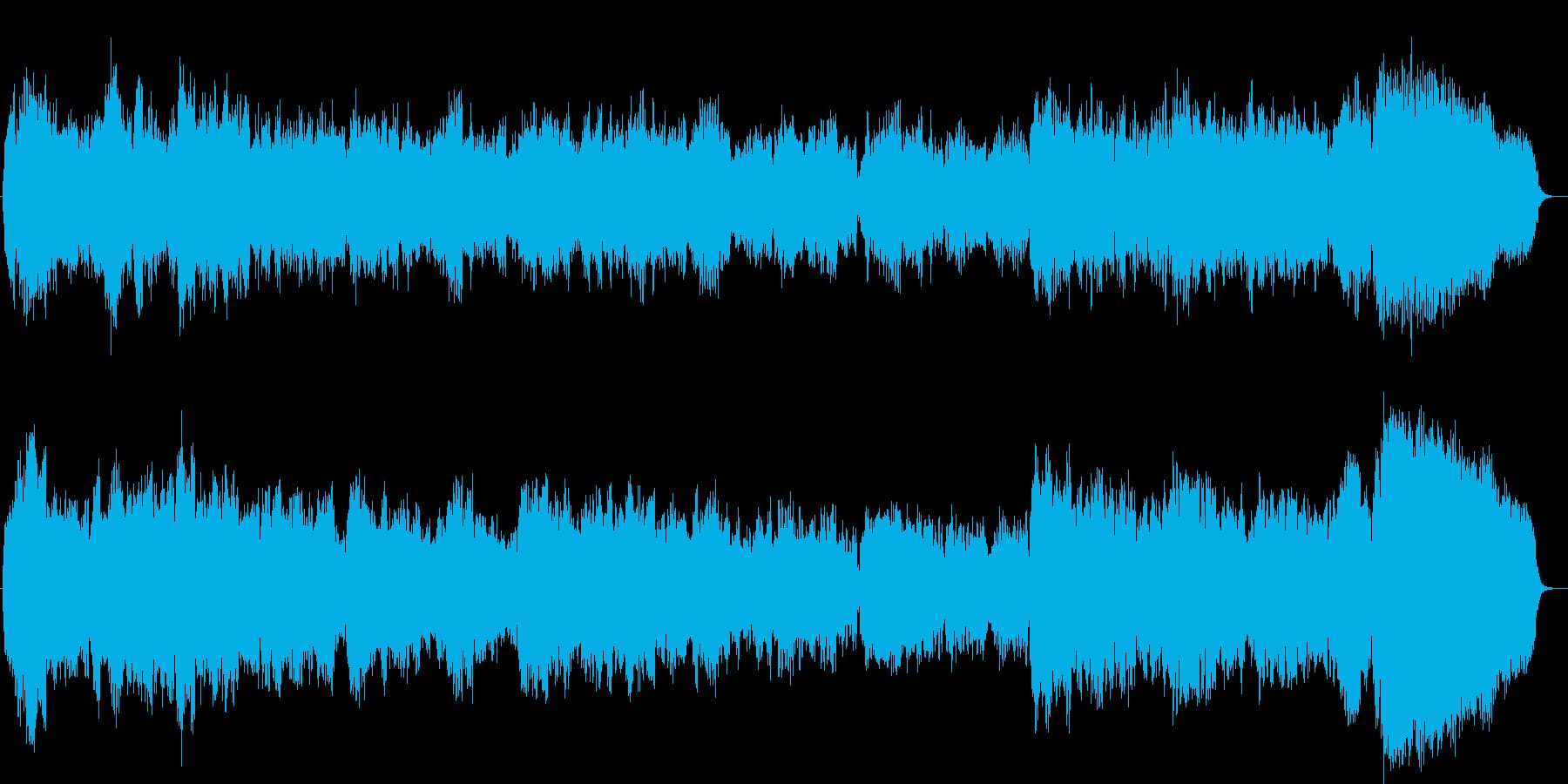 哀愁のあるバロック風オリジナル弦楽三重奏の再生済みの波形