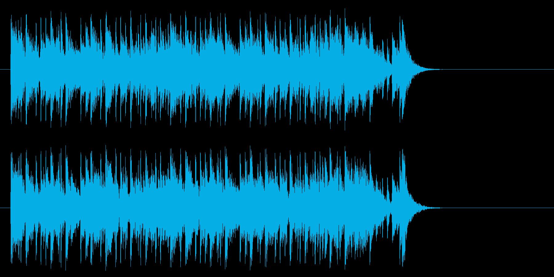 新生活へと出発するポップ(Aメロ)の再生済みの波形