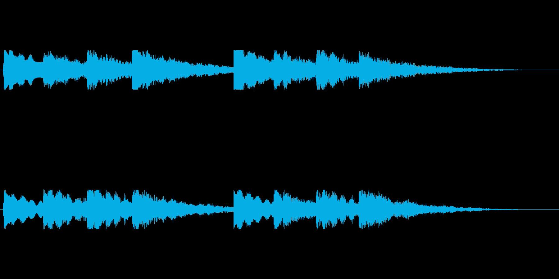 【チャイム 学校01-3】の再生済みの波形
