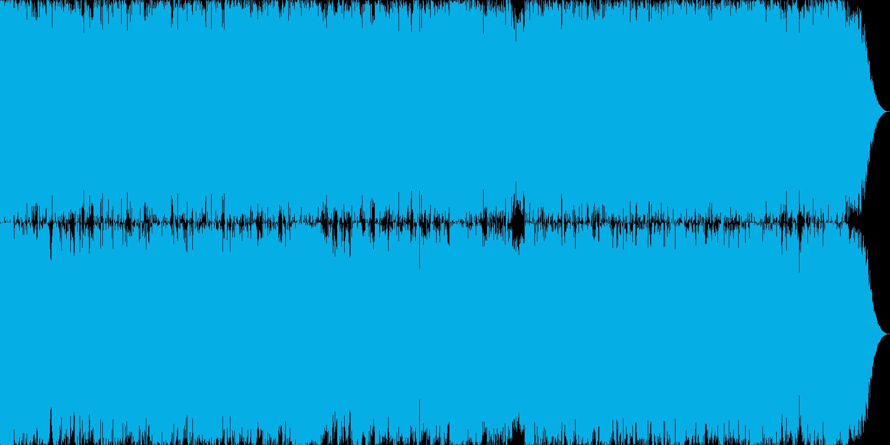 元気なROCK(30sec)の再生済みの波形