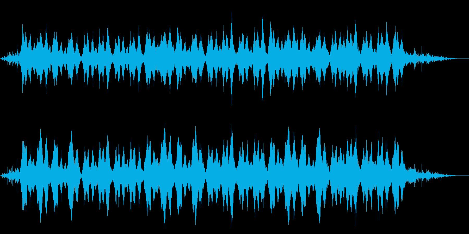 静かなストリングスの再生済みの波形