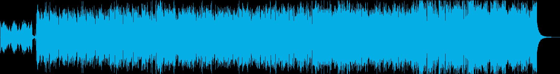 かっこいい・疾走感のあるケルト民族音楽の再生済みの波形