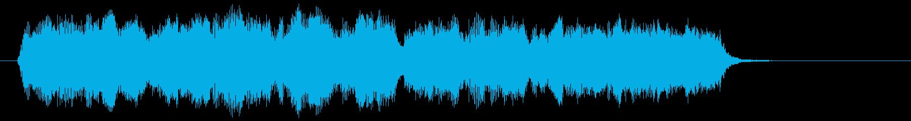 上品で優雅な弦カルテットのジングルの再生済みの波形
