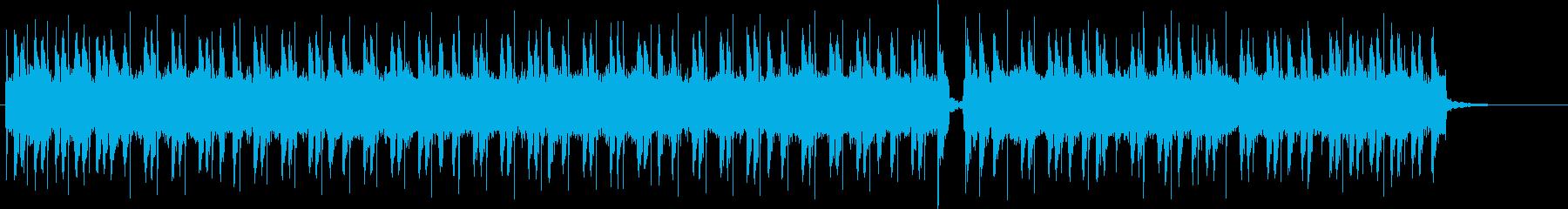 疾走感あるアメリカンポップパンクの再生済みの波形