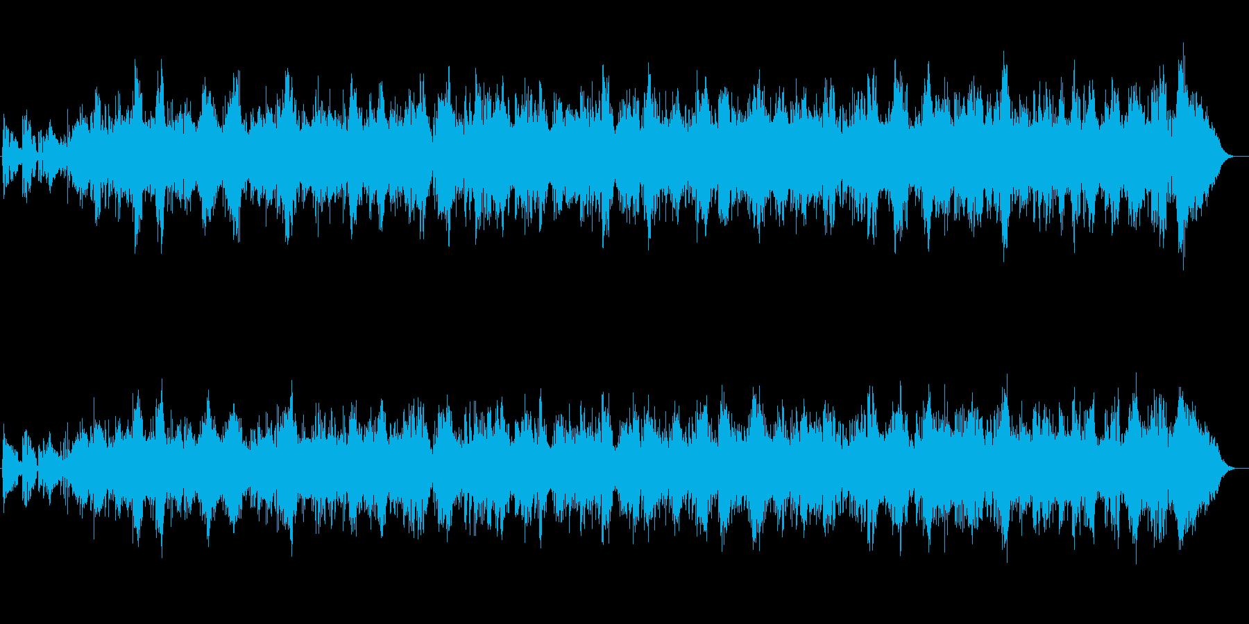 明るい透明感シンセサイザーサウンドの再生済みの波形