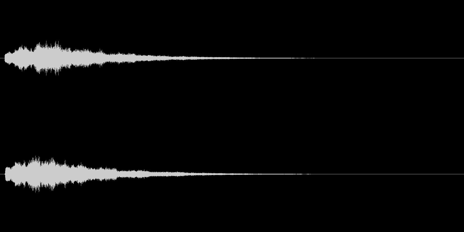 [キラン]回復魔法(キラキラ系)の未再生の波形