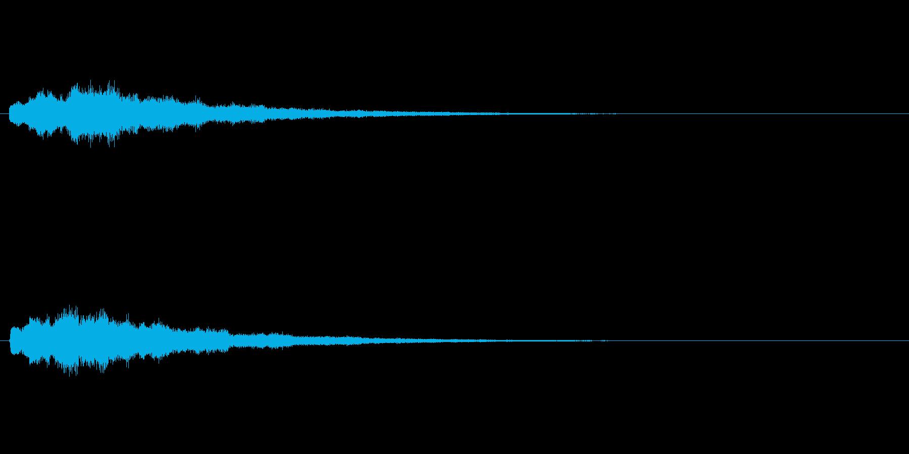 [キラン]回復魔法(キラキラ系)の再生済みの波形