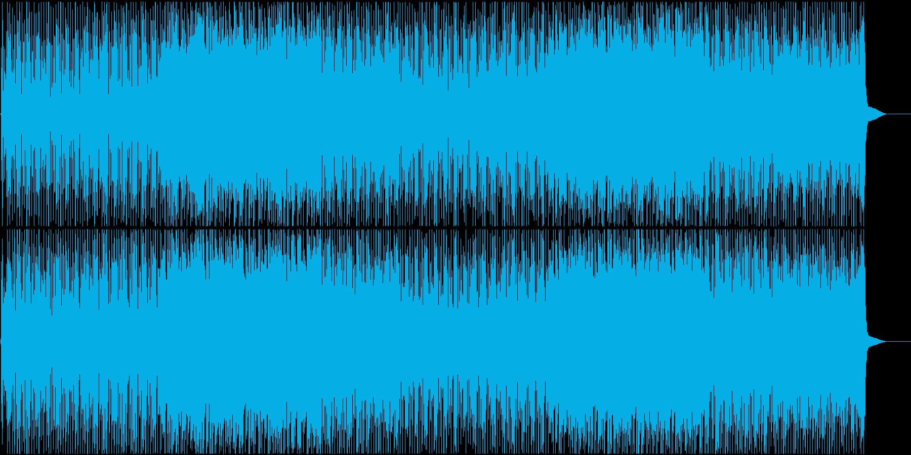 ラップが可愛いUPテンポのパーティソングの再生済みの波形