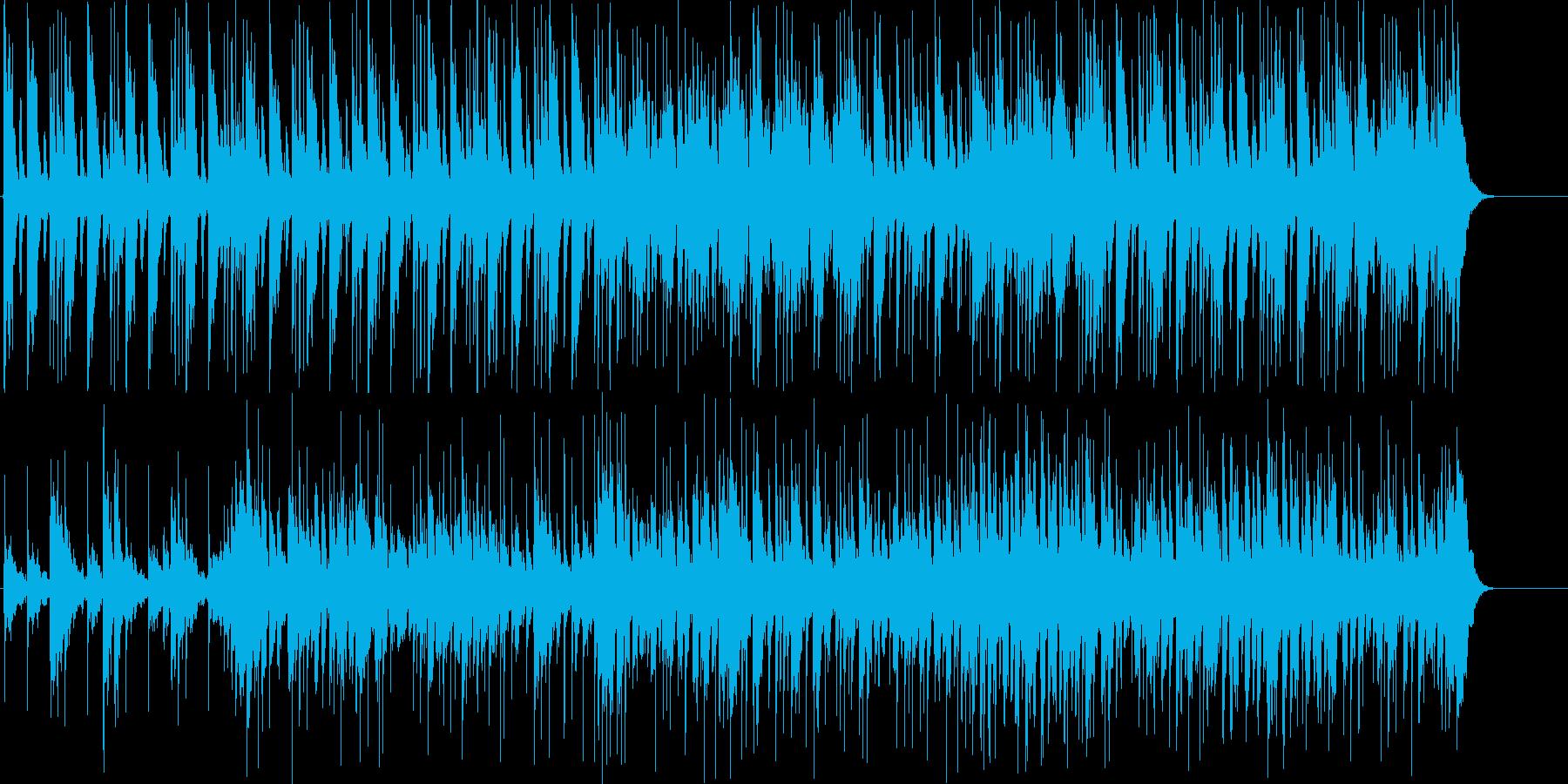 荒野を淡々と行く、わくわくアコギBGMの再生済みの波形