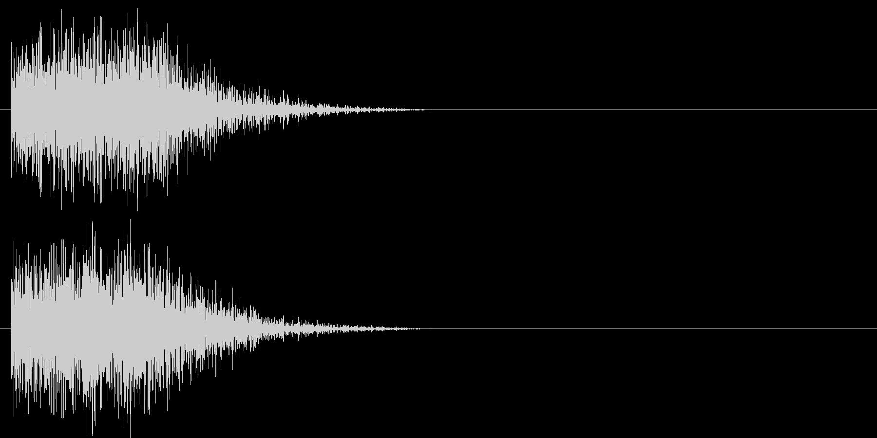 汎用 ヒット系05(大) 出題 フリップの未再生の波形