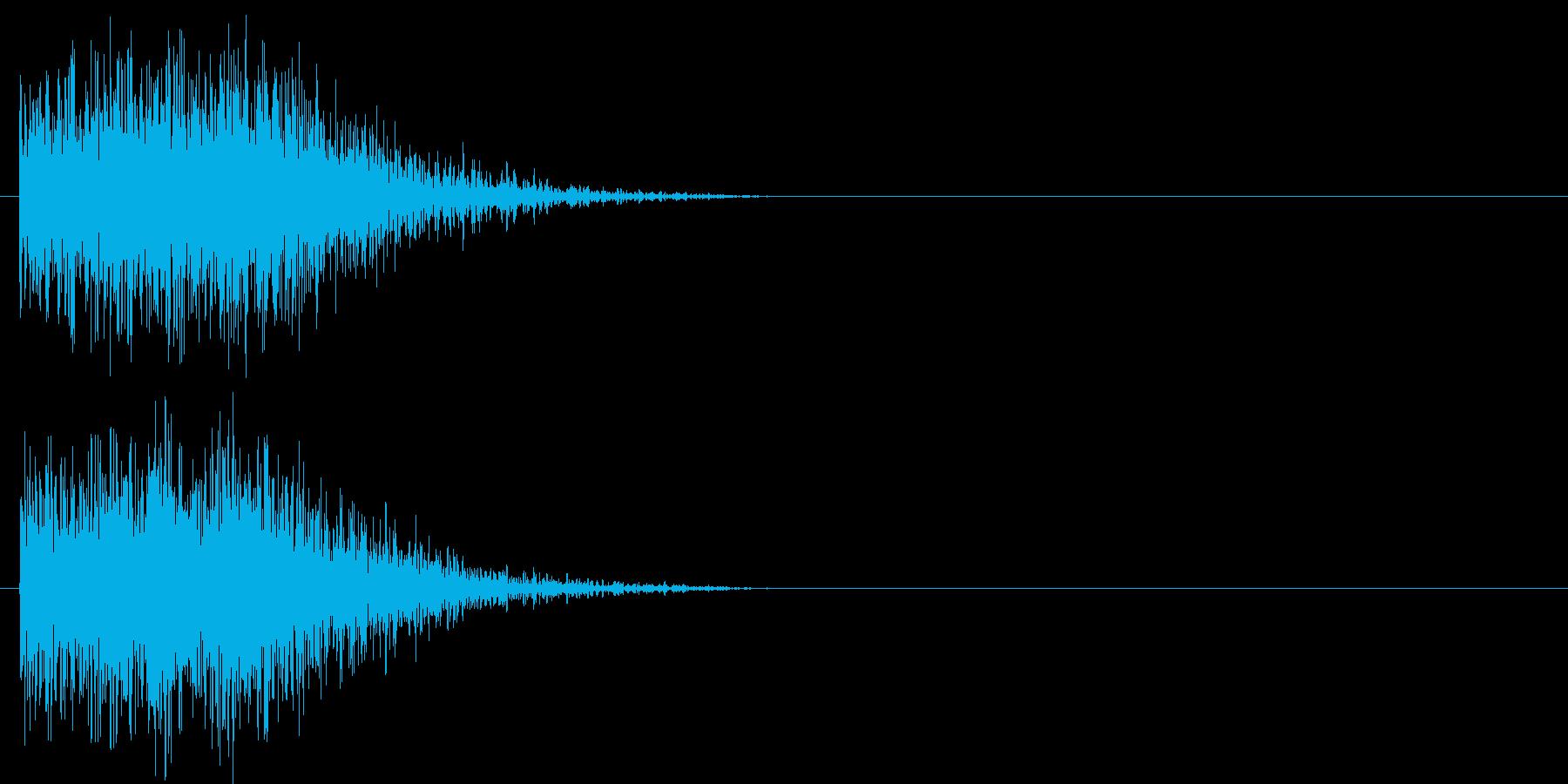 汎用 ヒット系05(大) 出題 フリップの再生済みの波形