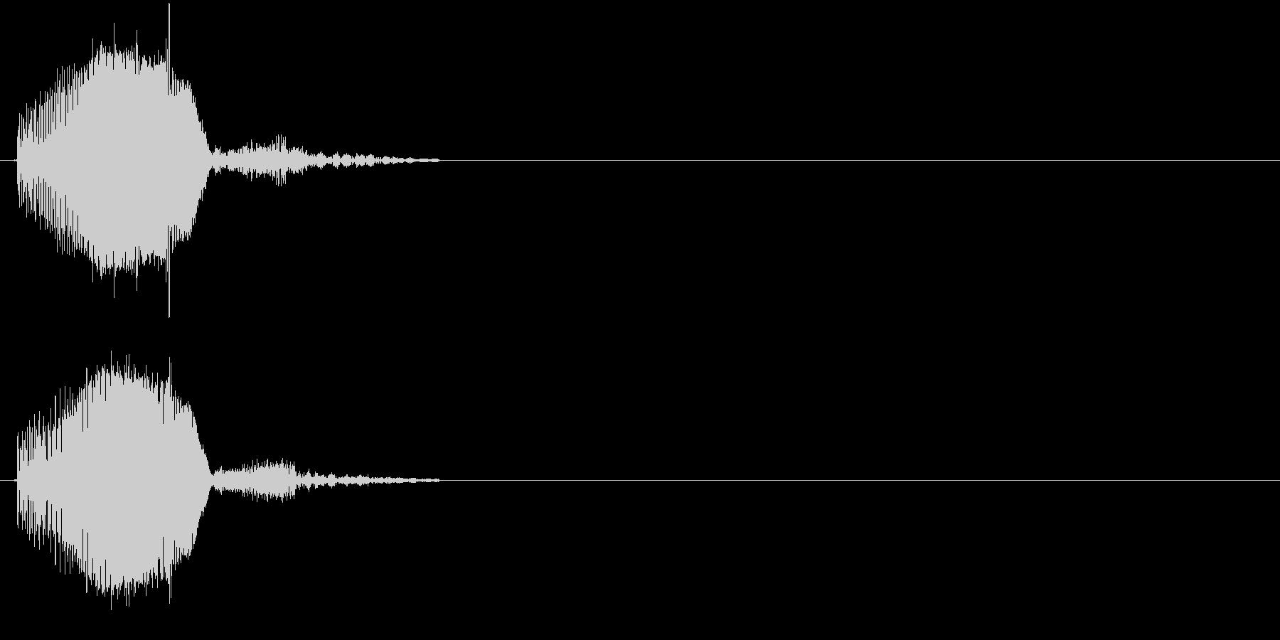 ぶよんの未再生の波形