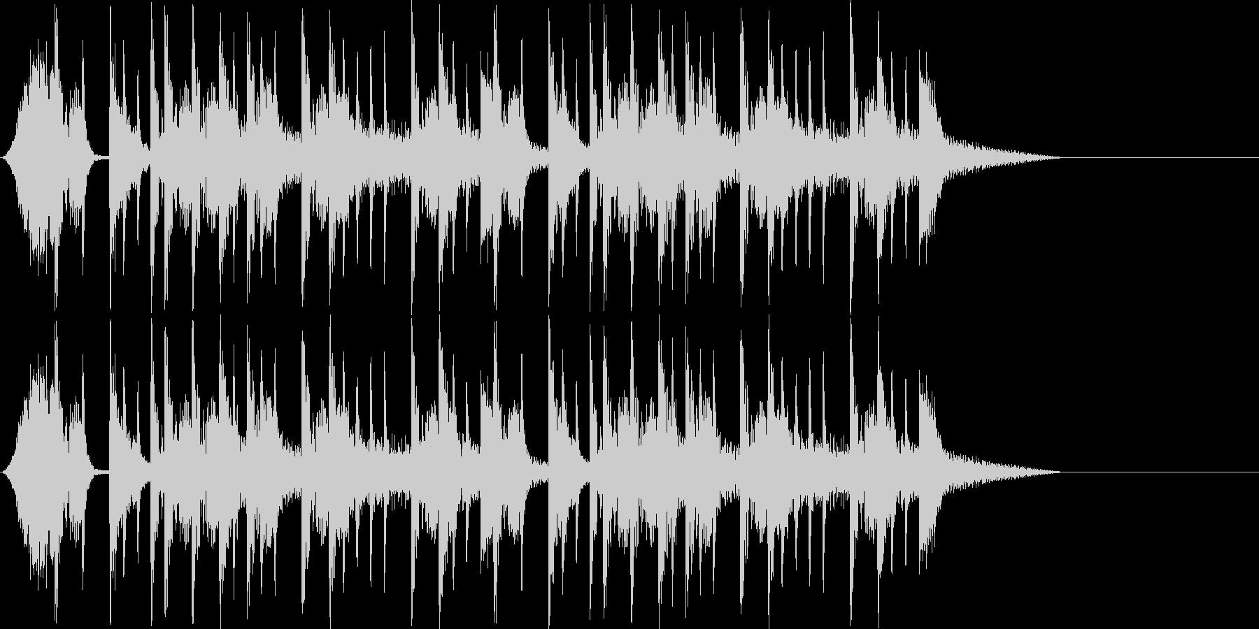 西海岸系ギタージングルの未再生の波形