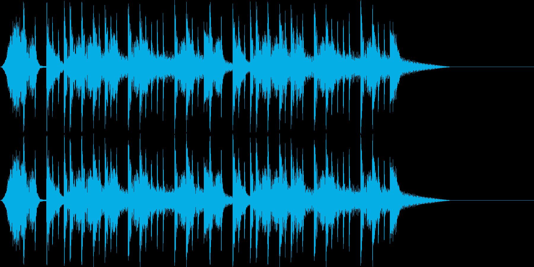 西海岸系ギタージングルの再生済みの波形