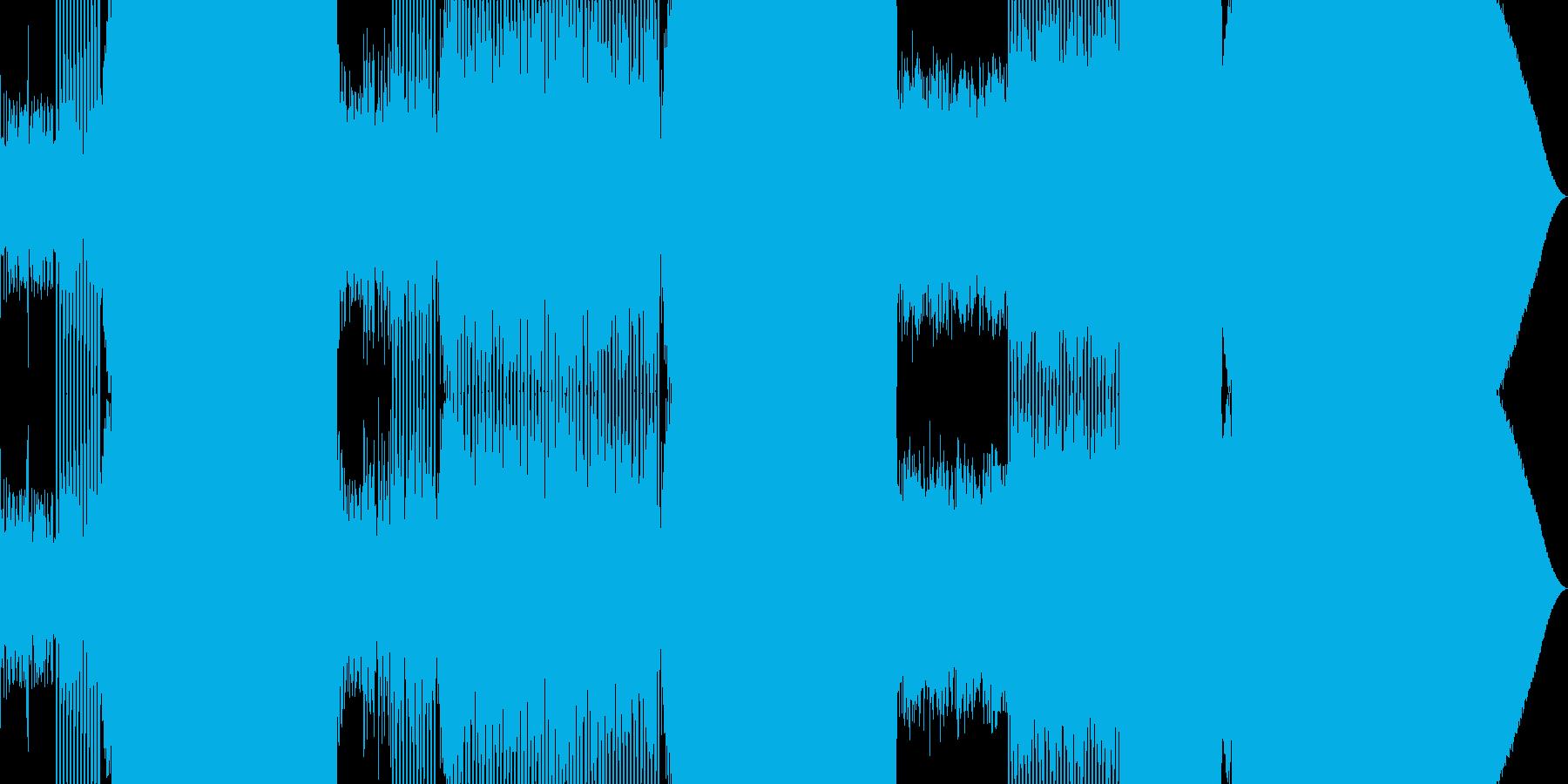 王道のEDMの再生済みの波形