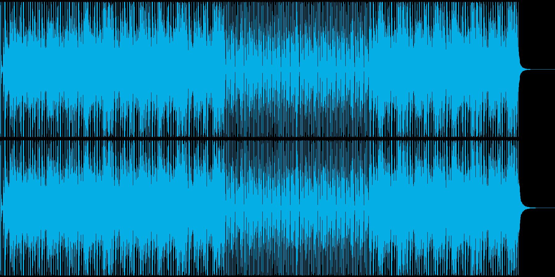 バンジョーが印象的な愉快で楽しいBGMの再生済みの波形