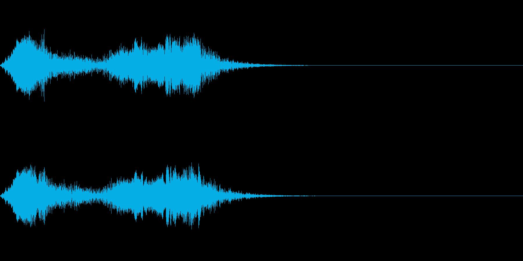 近未来乗り物(スピードアップ)の再生済みの波形