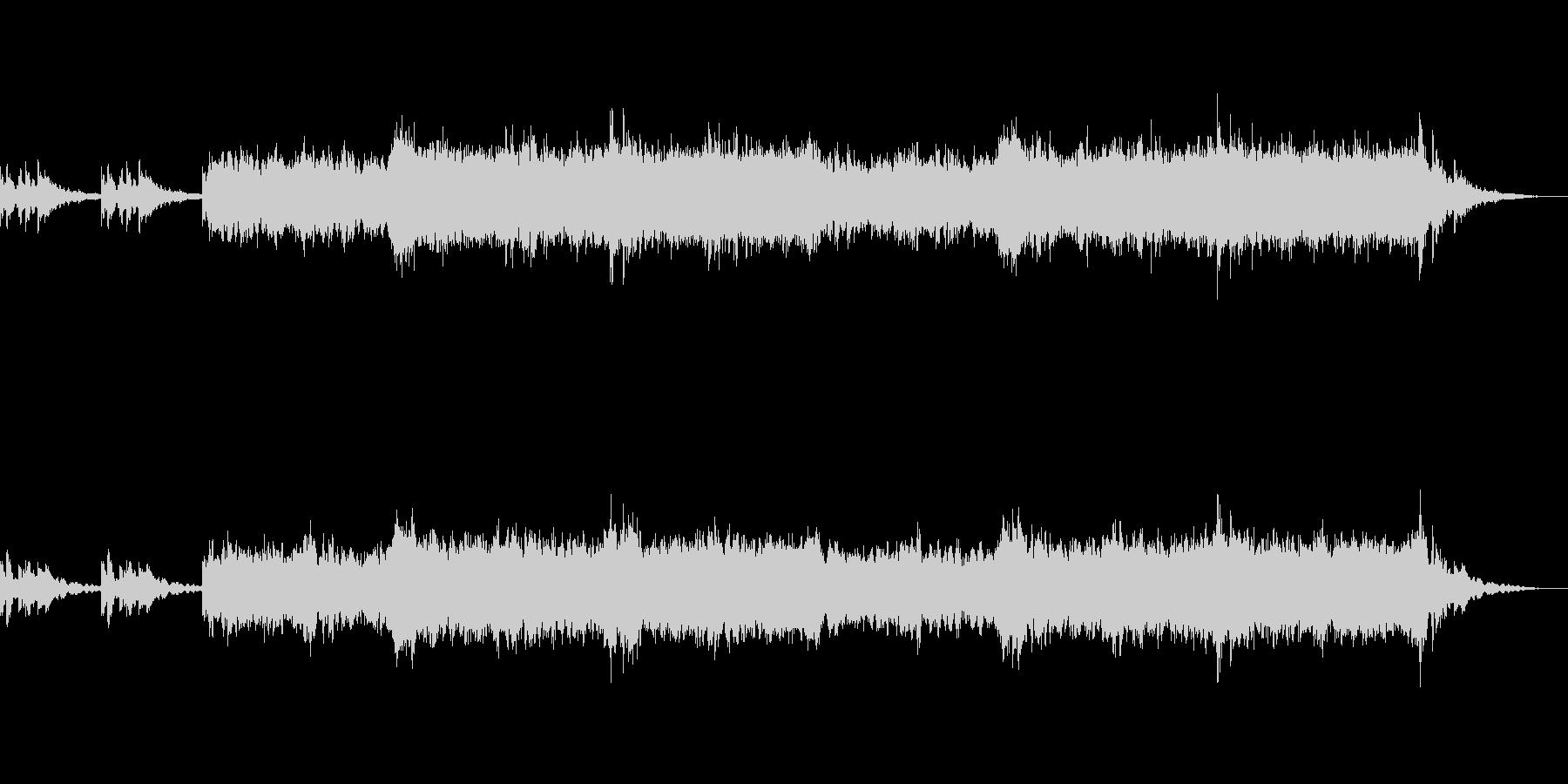 アンビエント環境音楽ヒーリング-04の未再生の波形